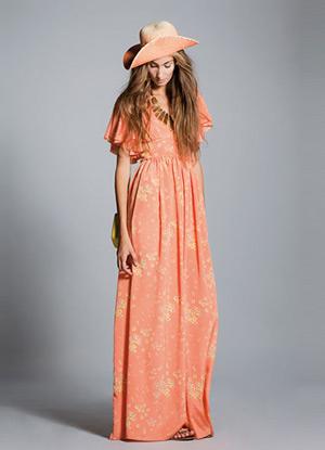 vestido largo verano 2013 Hoss Intropia