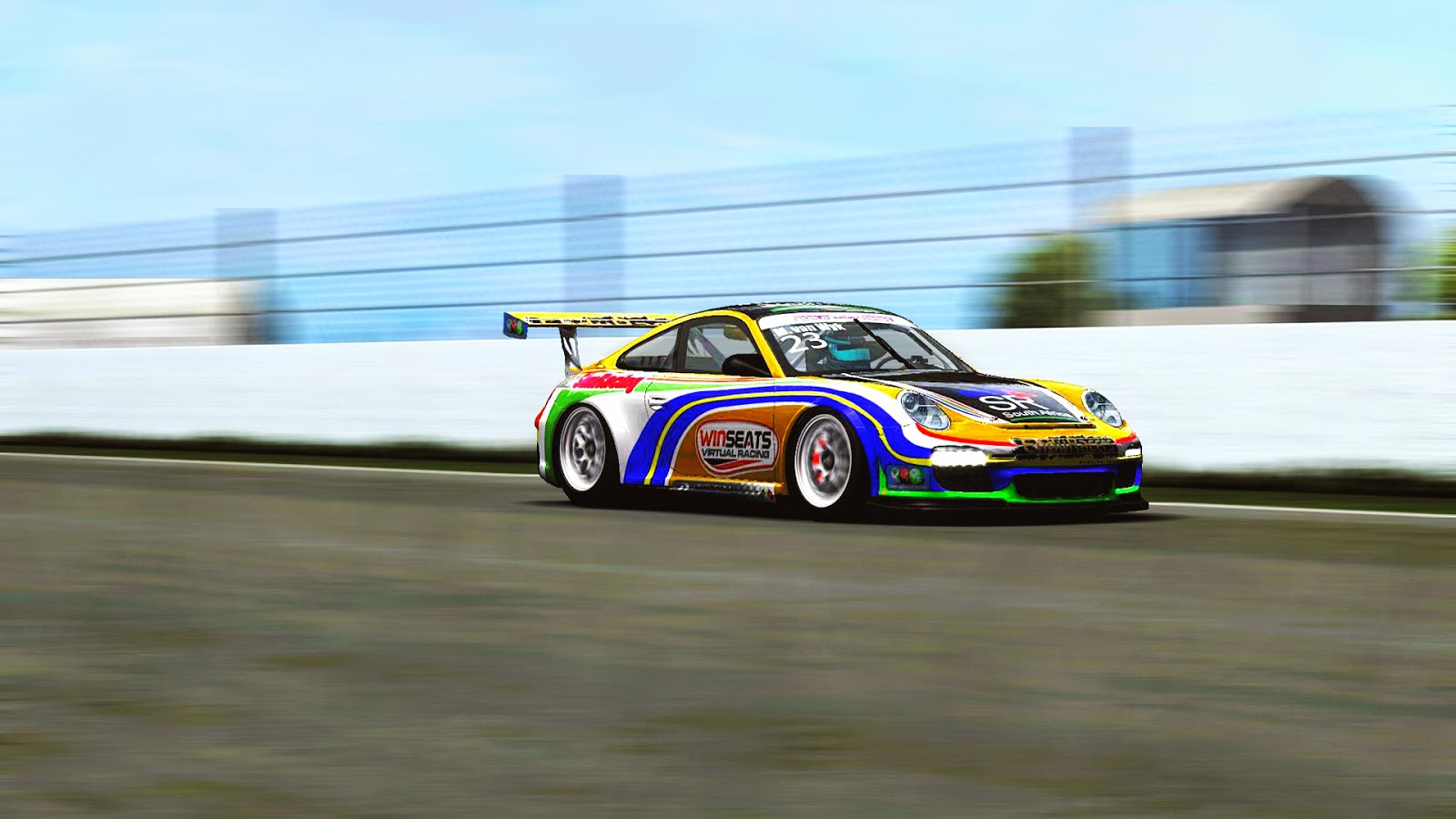 Marius practicing on the Spanish Track for the 2nd Round of the 2014 GPVWC WSS Race