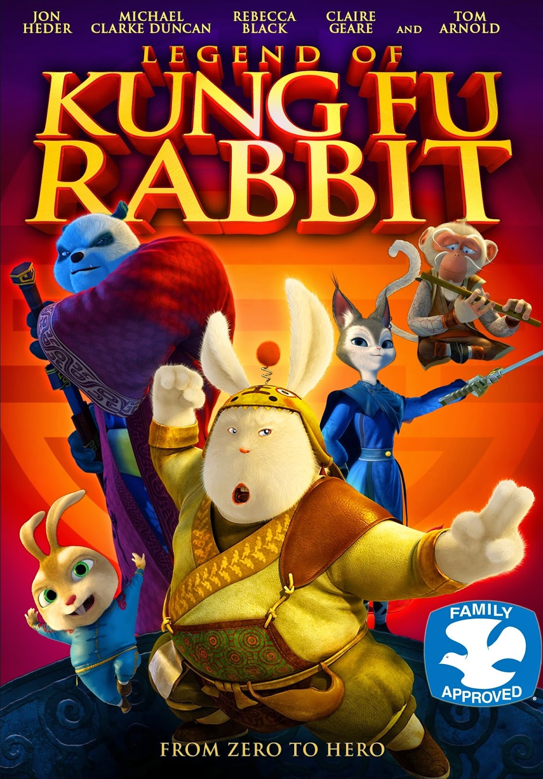 Download Legend of Kung Fu Rabbit (2011) BluRay 720p