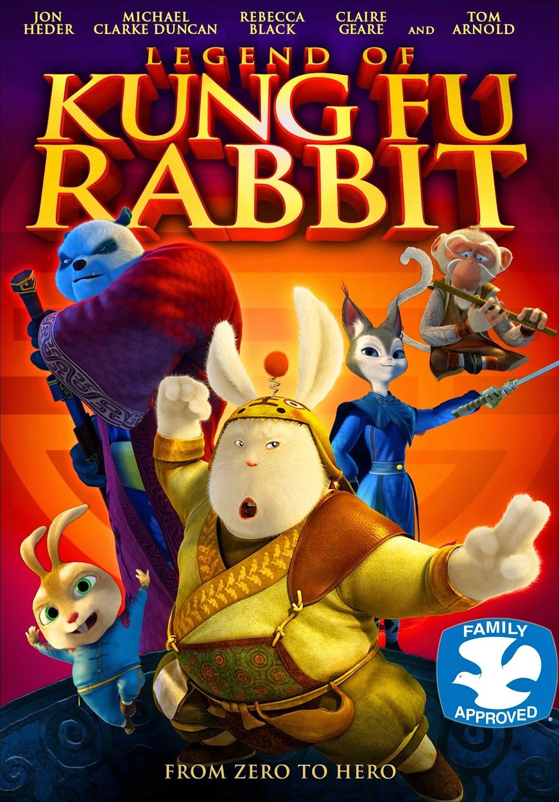 Download Legend Of Kung Fu Rabbit (2011) BluRay 720p