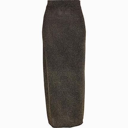 sparkly maxi skirt