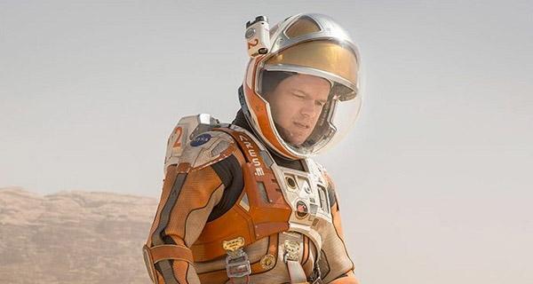 Matt Damon en The Martian