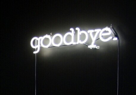 I'm Just Not Good With Goodbyes