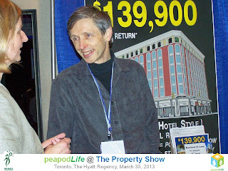 PeapodLife at Property Show Toronto 2013, photo by Olga Goubar