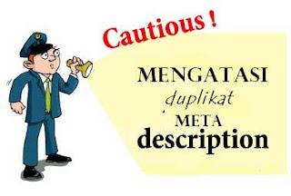 Duplikat meta descriptions