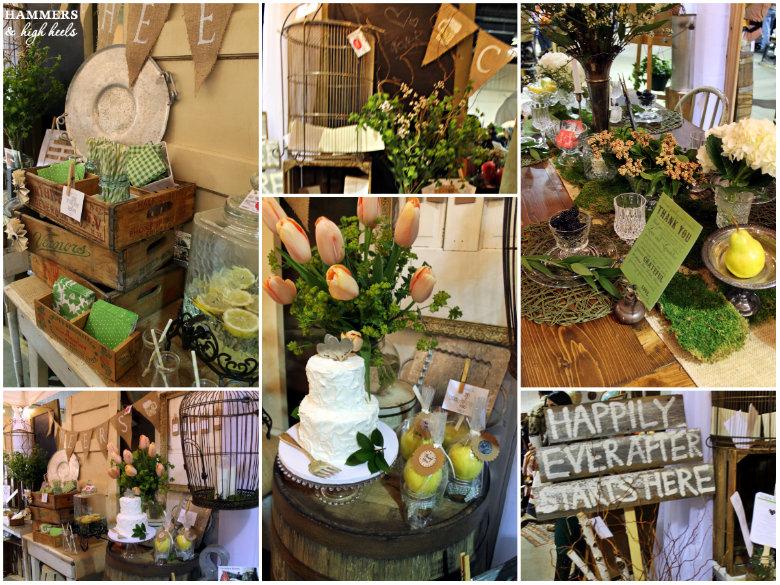 Modern Vintage Wedding Reception Ideas Bonanza Photos Can You Guess What I Took Home Plus