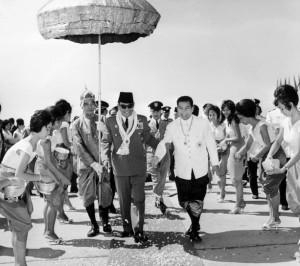 Norodom Sihanouk - Soekarno