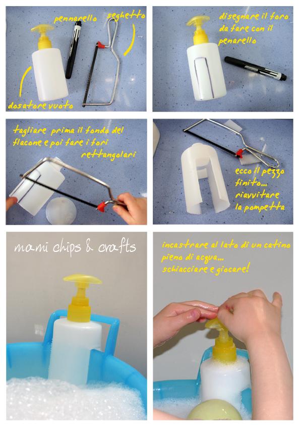 Mami chips crafts giochi per il bagnetto rubinetto a pressione - Giochi di baci in bagno ...