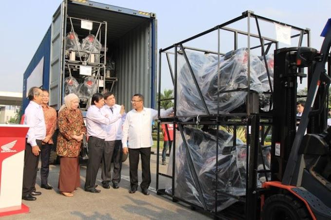 AHM Ekspor New BeAT FI ke Filipina - Hampir 100% Komponen Lokal Bro!