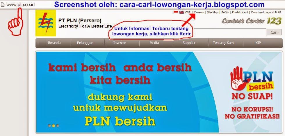 Info Lowongan Kerja Terbaru di PT PLN