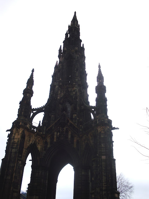 Walter Scott Monument, Edinburgh, Scotland