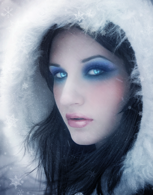 Turn a Regular Headshot Into a Cold Winter Portrait