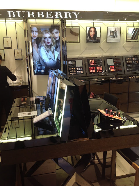 John Lewis Beauty Hall 2012 Burberry Counter