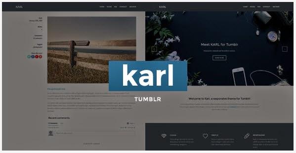 Portfolio Theme for Tumblr
