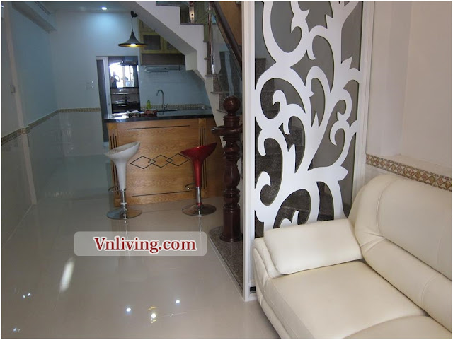 For lease 70 sqm serviced apartment 2 bedrooms in Thao Dien D2 cheap price
