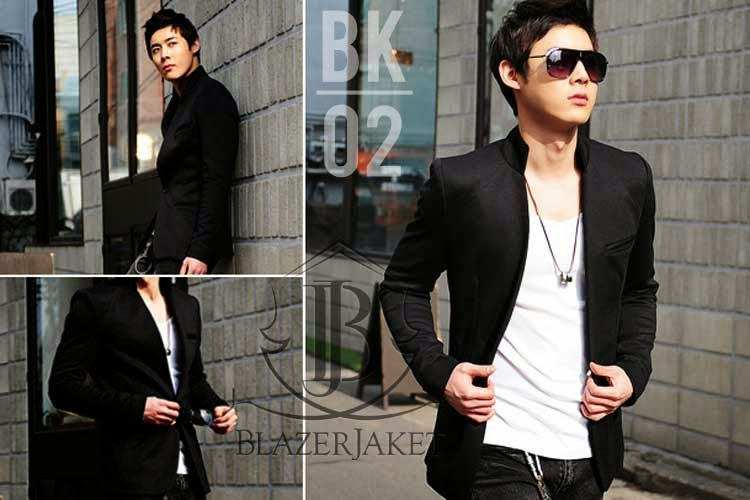Blazer Korea Black Style BLAZERJAKET.com