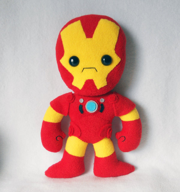 Iron man Plush by Deadly Sweet por misscoffee