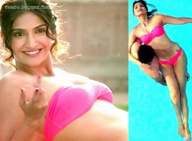 Sonam Kapoor Hot Bikini