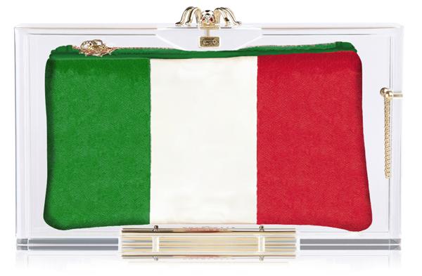 Charlotte Olympia Hat Trick Pandora box clutch Italy