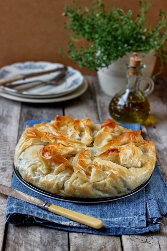 grecka tarta z feta