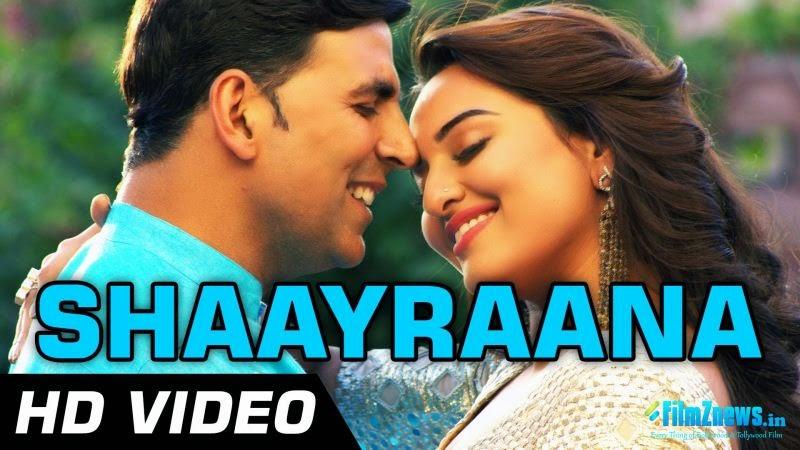 Aaj Dil Shayrana Lyrics from Holiday (2014)