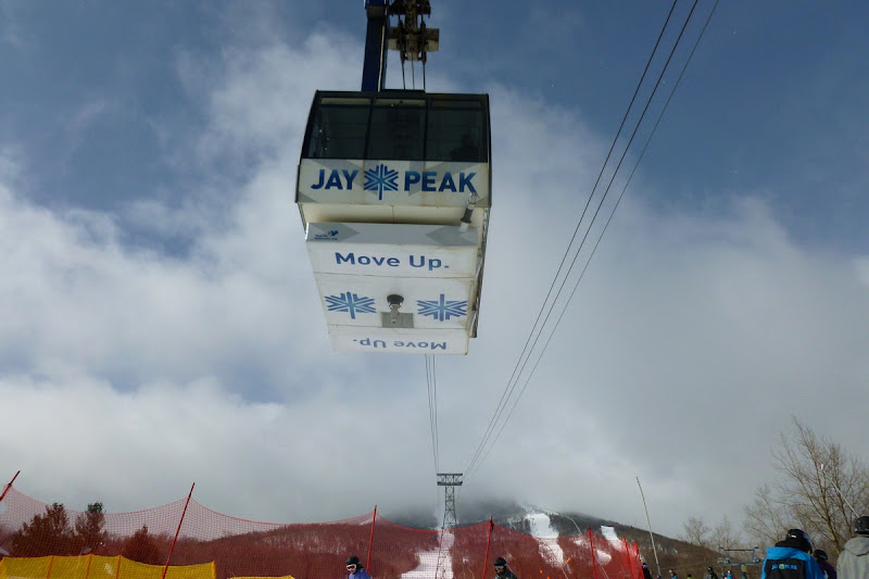Jay Peak's tram.  The Saratoga Skier and Hiker, first-hand accounts of adventures in the Adirondacks and beyond, and Gore Mountain ski blog.