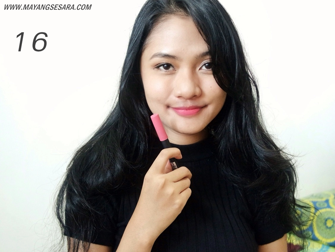 Review Me Now Kiss Proof Soft Pencil Lipstick By Mayangsesara No16 Matte Kissproof Menow Lipstik