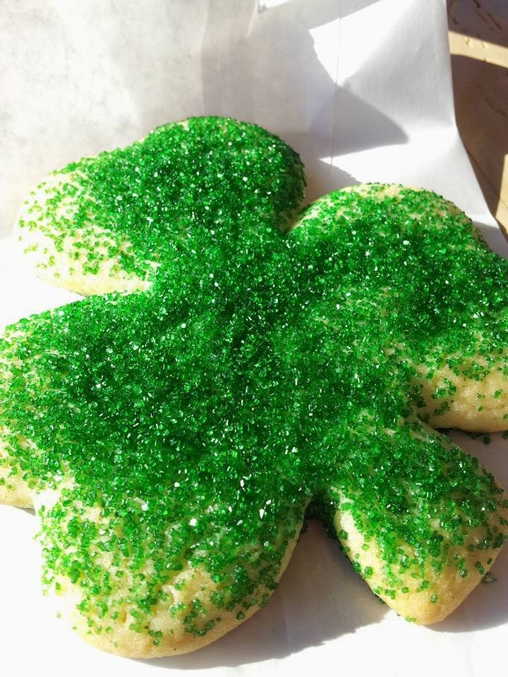 Shamrock Cookie from Yellow Dog Bread Company in Raleigh, N.C.