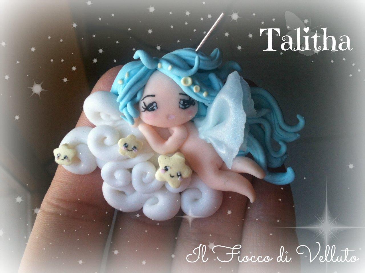 Collane/Ciondoli con Fatine in fimo Talitha+la+fatina+delle+nuvole