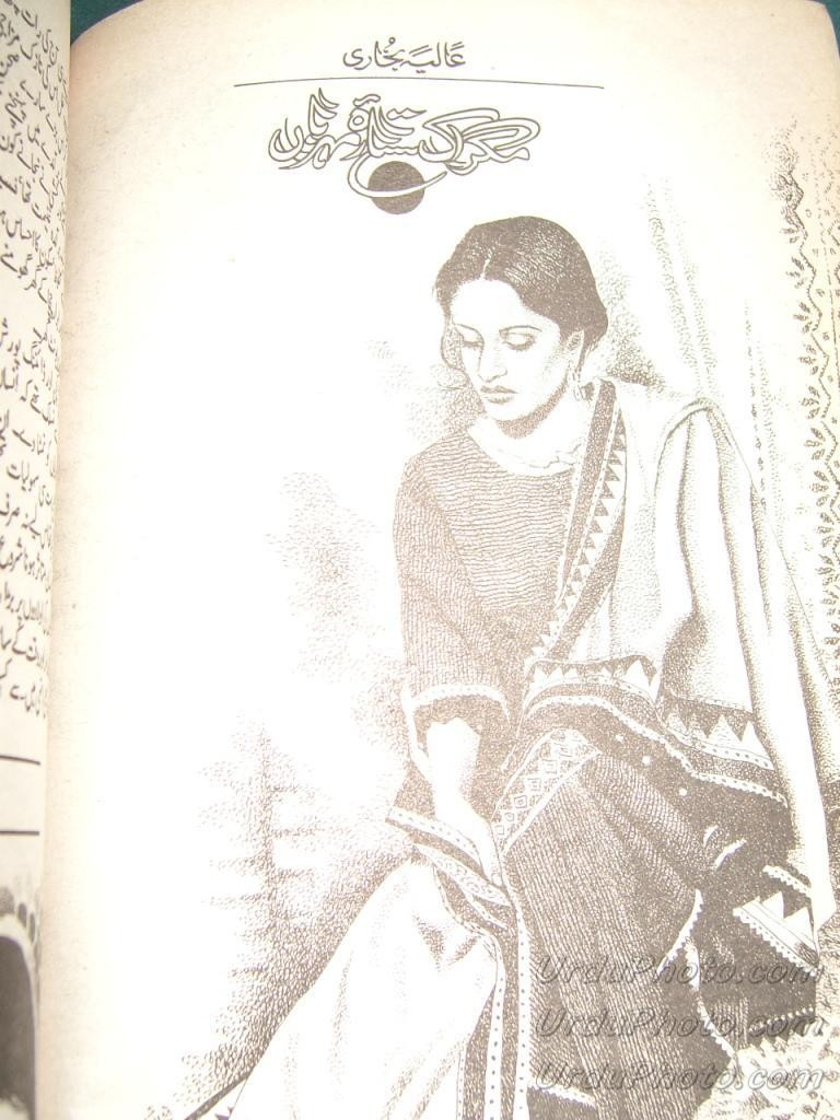 Magar ik sitara e meharban by Aliya Bukhari pdf