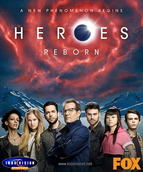 Heroes Reborn di Indovision.