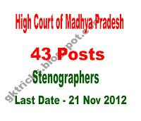 Organization- High Court of Madhya Pradesh