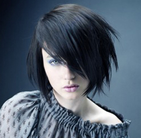 Trendy medium Emo Hairstyle