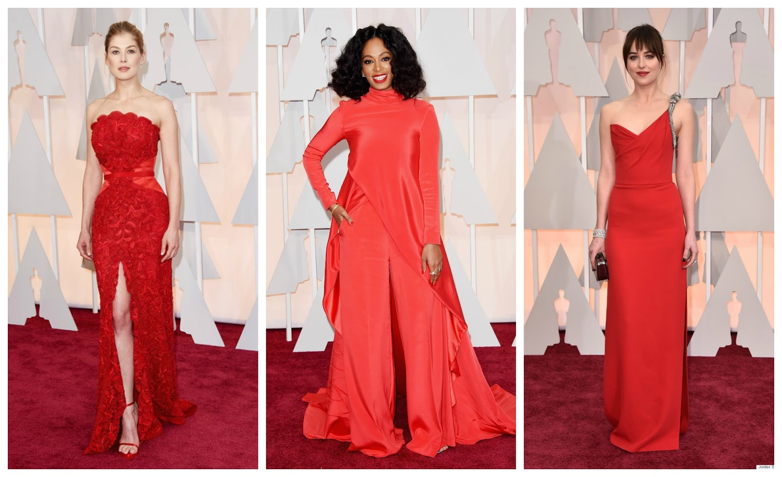 OSCARS 2015 Red Carpet Fashion