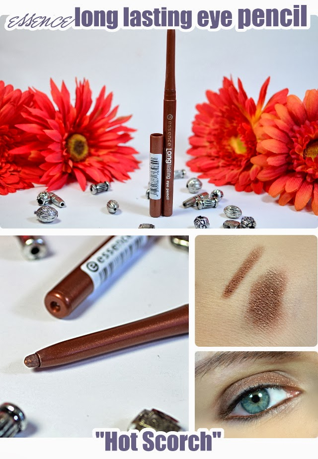 essence Neuheiten im Frühjahr 2014 - long lasting eye pencil