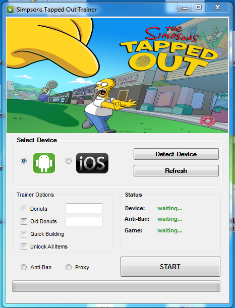 Astuce Simpson Tapped Out Trainer