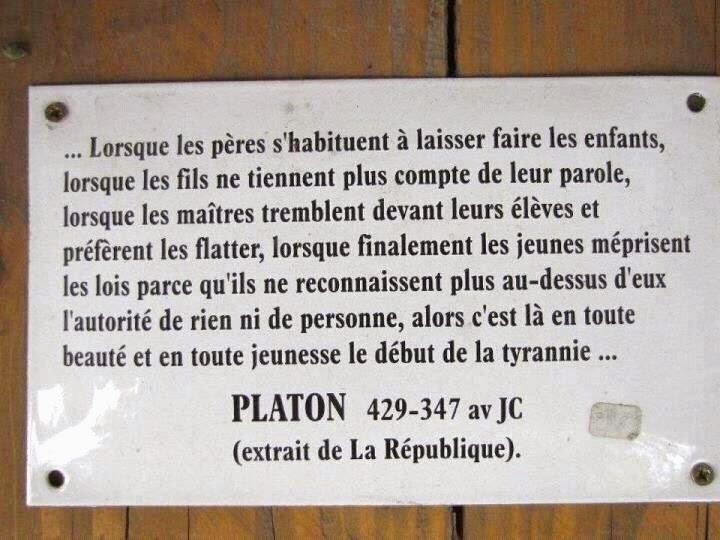 Platon il y a 2400 ans !