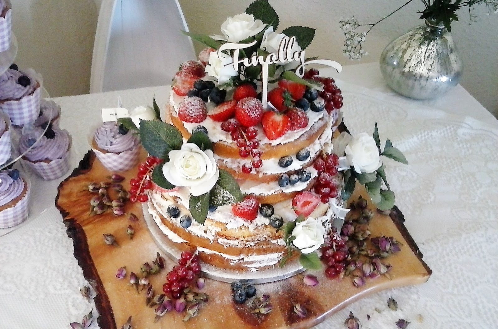 Kristys Bakery Naked Wedding Cakes At Kristys Bakery Swansea - Wedding Cake Swansea