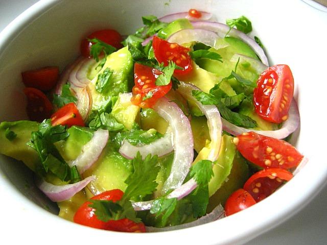 Салат из авокадо фото-рецепты