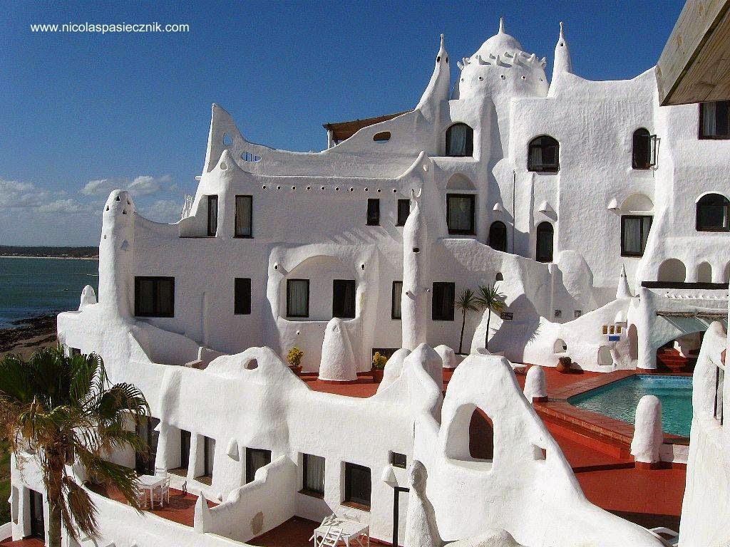 Arquitectura de casas casapueblo en punta del este como - Casas de pueblo ...