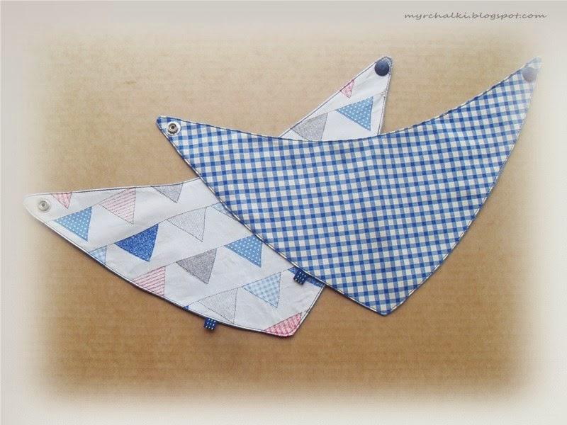 бандана , шейный платок для малыша своими руками