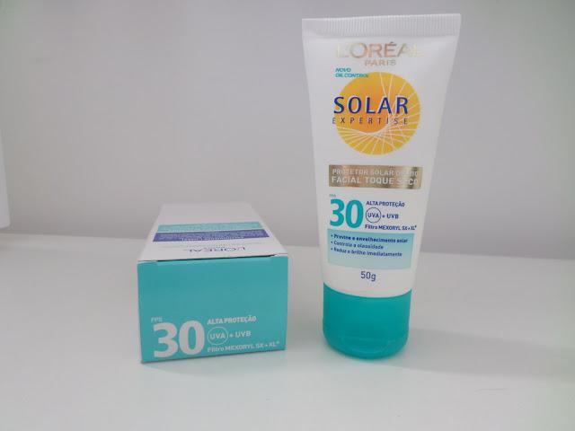 Protetor Facial Solar Expertise