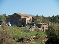 El mas Vilaró des del sud-oest