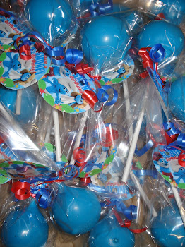 Smurf Pops