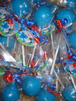 Smurf Pops