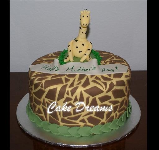 CAKE DREAMS Giraffe Cake
