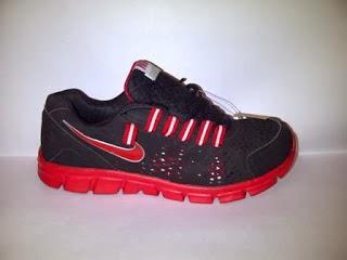 Nike Air hitam merah,nike running,nike aerobic,nike import