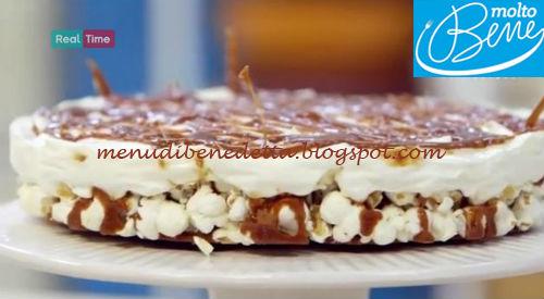 Cheesecake di popcorn ricetta Parodi per Molto Bene