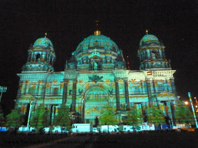 festival of lights, berlin, illumination, 2012, berliner dom