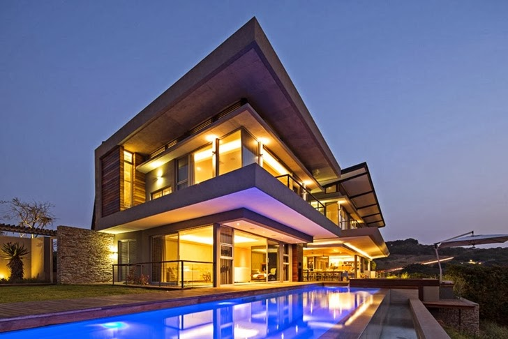 World of architecture gorgeous modern mansion by for Gorgeous modern homes